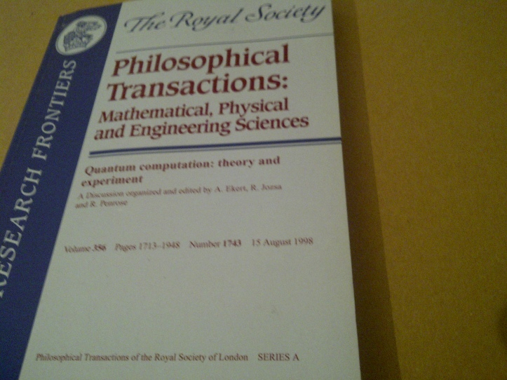 philodophical transactions