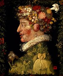 spring oil on canvas giuseppe arcimboldo